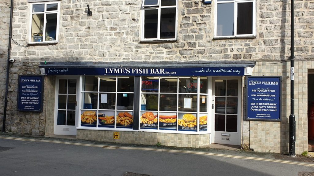 lyme regis fish and chips