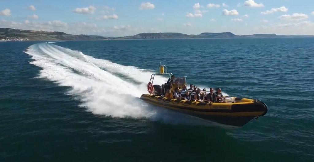 lyme boat ride along jurassic coast